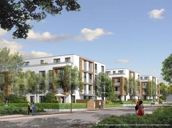 Visualisierung Perspektive Wohngebäude