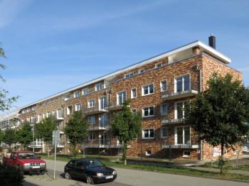Ansicht Mehrfamilienhäuser